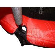 Capetan® Kiddy Jump 140 cm Trampolin mit Sicherheitsnetz und unterem Rahmensicherheitsnetz