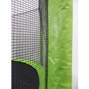 Capetan® Selector Lime 487 cm Trampolin mit 180 kg Belastbarkeit, mit langen Netzstangen, mit befestigenden T-Elementen zusätzlich verstärktes Rahmengestell, mit extra hohem Sicherheitsnetz – premium Gartentrampolin mit dicker Federabdeckung, mit ei