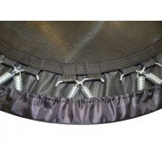 Capetan® Premium Fly 122 cm Zimmertrampolin – 100 kg Belastbarkeit, Federabdeckung aus kraftvollem Polyesterstoff