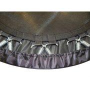 Capetan® Premium Fly 140 cm Zimmertrampolin – 100 kg Belastbarkeit, Federabdeckung aus kraftvollem Polyesterstoff