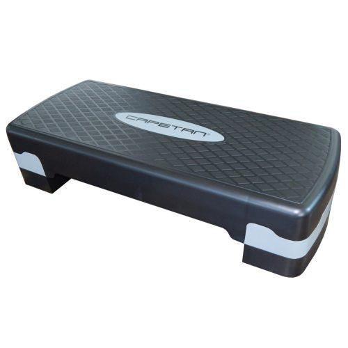 Capetan® 68 cm langer höhenverstellbarer Steppbrett – Steppbrett mit verstellbarer Höhe – verstellbares Steppbrett – Stepbrett