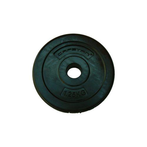 Capetan® 1,25 kg Hantelscheibe aus Vinyl – 1,25 kg Hantelscheibe mit Zement (1 Stck.)