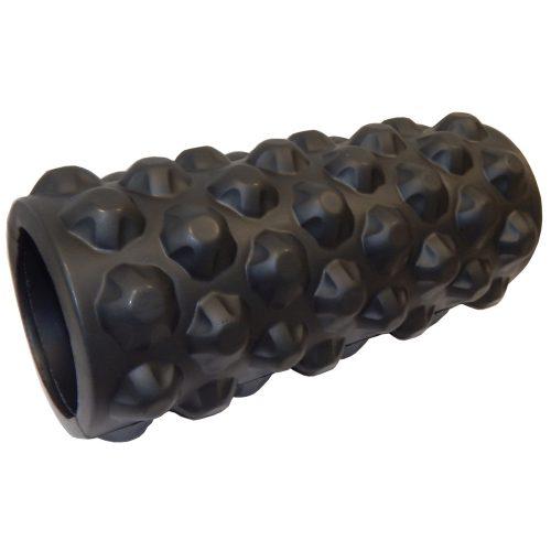"Capetan® ""Rumble Roller"" 14x33 cm SMR Massagerolle mit hartem Gestell und buckliger Oberfläche – Triggerpunktrolle® ""Rumble Roller"" 14x33 cm SMR Rolle – Triggerpunkt Massagerolle"