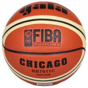 Gala Chicago Basketball, geeignet für Wettspiele, für drinnen, Größe 7, auch im offiziellen Speilbetrieb einsetzbar, mit FIBA-Bekräftigung