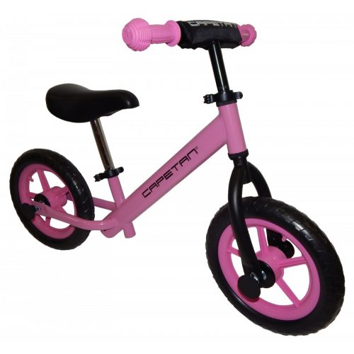 """Capetan® Energy Pinkfarbenes Laufrad mit 12"""" Rädern – Kinderfahrrad ohne Pedal"""