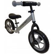 """Capetan® Energy Silberfarbenes Laufrad mit 12"""" Rädern – Kinderfahrrad ohne Pedal"""