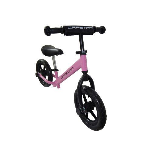 """Capetan® Energy Shadow Line Pinkfarbenes Laufrad mit 12"""" Rädern – Kinderfahrrad ohne Pedal"""