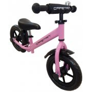 """Capetan® Energy Plus Pinkfarbenes Laufrad mit 12"""" Rädern mit Schutzblech und Klingel – Kinderfahrrad ohne Pedal"""