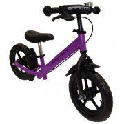 """Capetan® Neptun lilafarbiges mit Bremse versehenes Laufrad mit 12"""" Rädern mit Schutzblech und Klingel – Kinderfahrrad ohne Pedal"""