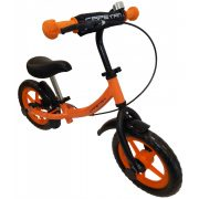 """Capetan® Sirius Premium Line Orangenfarbiges mit Bremse versehenes Laufrad mit 12"""" Rädern mit Schutzblech und Klingel – Kinderfahrrad ohne Pedal"""