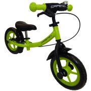"""Capetan® Sirius Premium Line Laufrad, 12"""" Räder, grün, mit Schutzbleche, Hinterrad-Handbremse und Klingel, Lernfahrrad ohne Pedale."""
