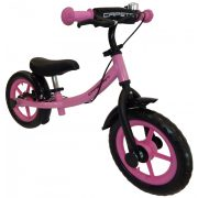 """Capetan® Sirius Premium Line Pinkfarbenes mit Bremse versehenes Laufrad mit 12"""" Rädern mit Schutzblech und Klingel – Kinderfahrrad ohne Pedal"""