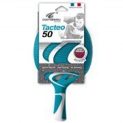 Cornilleau Tacteo 50 Tischtennisschläger für Außenraum, türkis/weiß