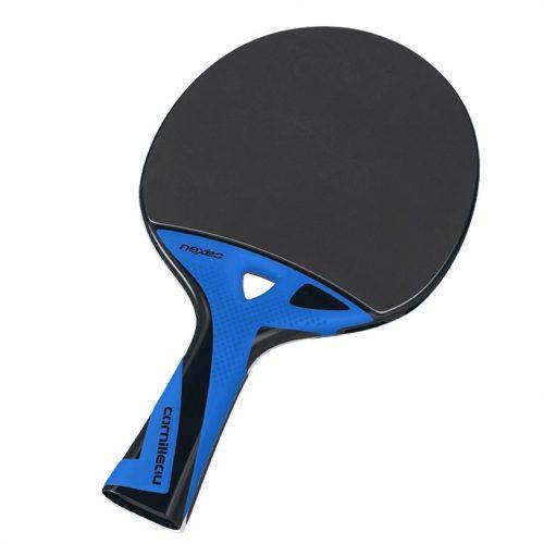 Cornilleau Nexeo X90 Carbon Tischtennisschläger für Außenraum mit Gummi-Belag