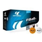 Cornilleau Tischtennisball Pro 72er Pack, Farbe: Orange