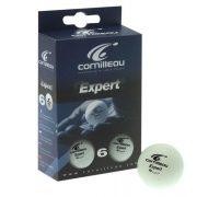 Cornilleau Tischtennisball Expert 6er Pack, orange