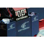 Corniellau Anzeigetafel mit Hüllblatt