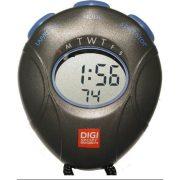 Digi DT-1 Stoppuhr mit Uhrzeitfunktion, Rundenzeit, Zwischenzeit