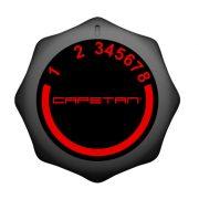 Capetan® Fit Line X5 Heimtrainer mit einem 7 kg schweren Schwungrad, Pulsmessung und einem Tablethalter, mit 120 kg Belastbarkeit