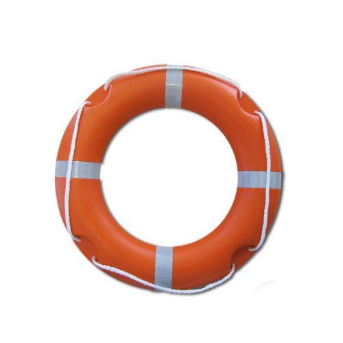 Qualifizierter Rettungsring mit Rückstrahler, 75/44 cm – normgerechter Lebensrettungsring