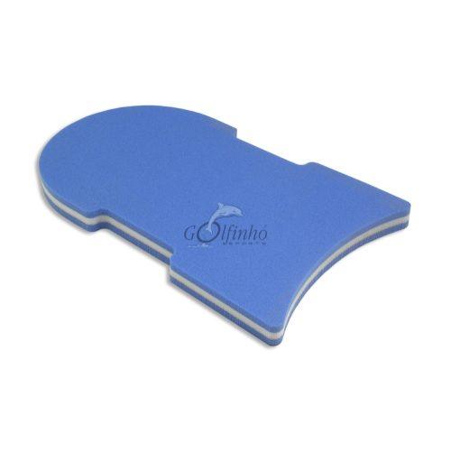 Schwimmbrett – supergroß, 49 x 28 x 4 cm, ergonomisch gestaltet, extra dicker hautfreundlicher retikulierter Schaumstoff