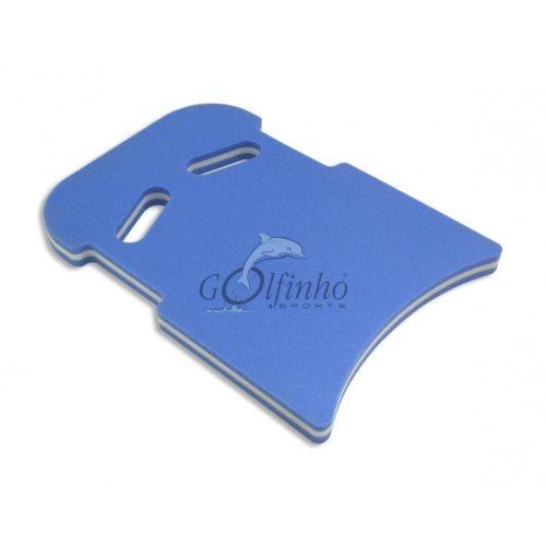 Schwimmbrett – supergroß, 49 x 28 x 4 cm, ergonomisch gestaltet, extra dicker hautfreundlicher retikulierter Schaumstoff, mit Anfassteilen