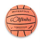 Wasserball Golfinho Competition Fluo – fluoreszierende orangene Farbe; No. 4 Turnierwasserball für Damen und Junioren