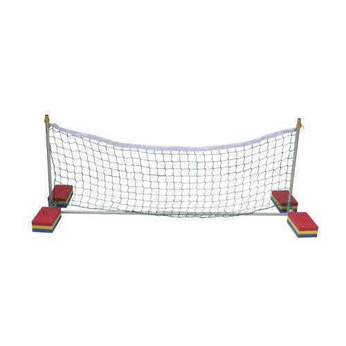 Golfinho Wasser-Volleyballgestell Set aus Aluminiumrohren – 200 x 60 x 60 cm, mit Netz & Auftriebskörpern aus EVAC Schaum
