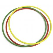 Gonfinho Tauchslalom-Ringe – 3-er Set mit 70 cm Durchmesser (2 Stck. beschwert, 1 Stck. ohne Beschwerung)
