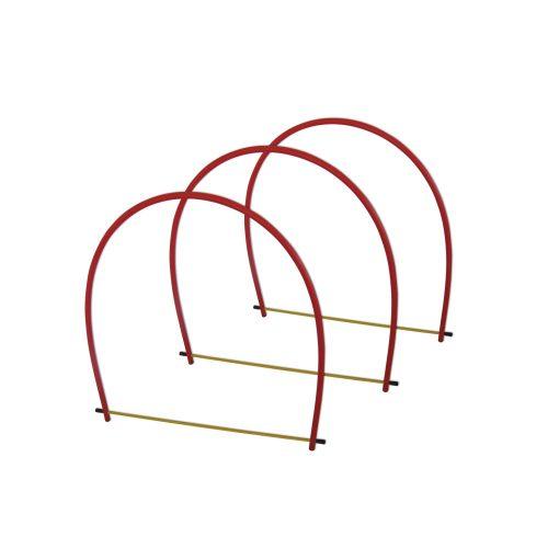Golfinho Tauchtunnel aus halbkreisförmigen Teilen – 3-er Set