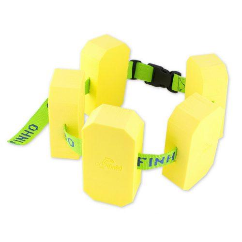 Schwimmgürtel mit 5 Blockschwimmern – Juniorengröße, 19 x 9 x 3 cm Blöcke, bei 18-30 kg Körpergewicht, zwischen 3-6 Jahren empfohlen