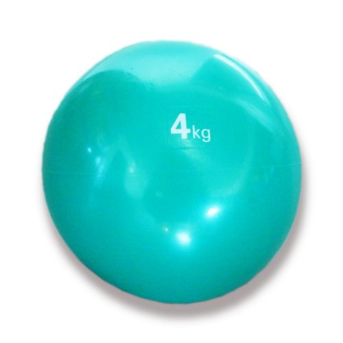Capetan® Medizinball mit sanftem Tasten – 4 kg, weicher Medizinball, Medizinball aus Gummi