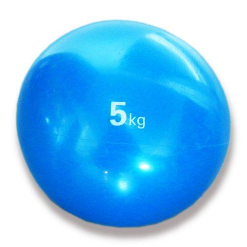 Capetan® Medizinball mit sanftem Tasten – 5 kg, weicher Medizinball, Medizinball aus Gummi