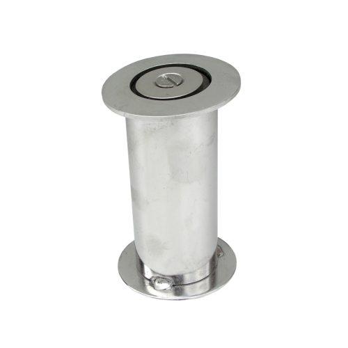Golfinho Rohrhülsenset zum Einbauen in den Säulen der Rückenschwimm-Starthilfe mit Seilen von 43 mm Durchmesser, AISI-315