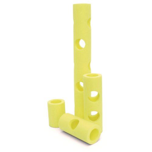Capetan® Wassernudel-Verbindungsstück mit 4 Öffnungen, mit 2 Löchern an den Enden und 2 auf den Seiten – 22x10 cm, Zubehör zu Wassernudeln zum super Preis