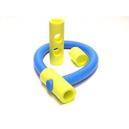 Wassernudel-Verbindungsstück – 32 cm langes Verbindungsrohr mit 2-2 seitlichen Löchern, 6 Öffnungen