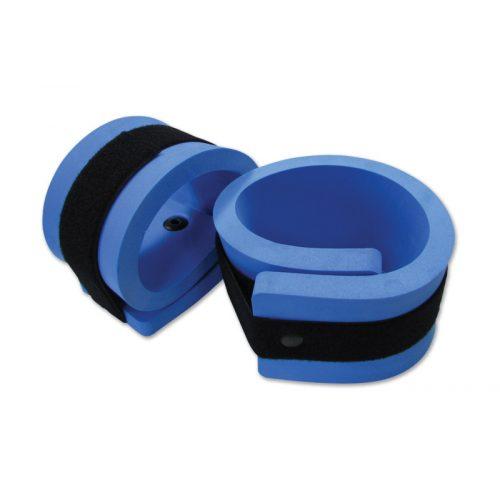 Ein Paar Aquafitness Hand-/Fußgelenksmanschetten – an die Gelenke angurtbare Wassergewichte, 62 x 11 x 2 cm