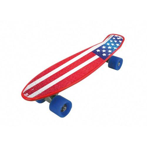 Garlando Freedom Pro Rollbrett mit USA-Flaggenmuster aus thermoplastischem ABS
