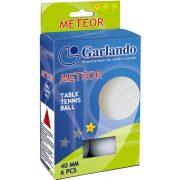 Garlando Meteor * Pingpongball – 6 Stck. für Freizeitbeschäftigung empfohlene Pingpongbälle