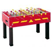 Garlando G-500W roter Fußballtisch für Außenverwendung mit Teleskopstangen