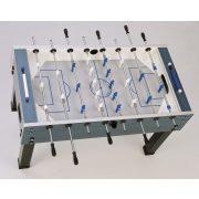 Garlando G-500W Fußballtisch für Außenverwendung mit durchgehenden Stangen – blau-silbern
