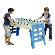 Garlando Open Air Outdoor-Fußballtisch mit Teleskopstangen und einklappbaren Beinen