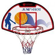 Garlando Denver Basketballbrett mit einem Ring von 30 cm Durchmesser und Netz – Juniorengröße, 61 x 41 cm Brett