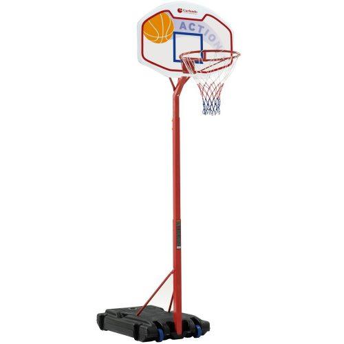 Garlando Detroit mobiler Streetballständer mit füllbarem Standfuß und zwischen 210-260 cm höhenverstellbarem Brett