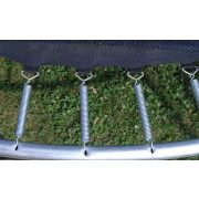 Garlando Combi XL 366 cm Durchm. Gartentrampolin mit Sicherheitsnetz