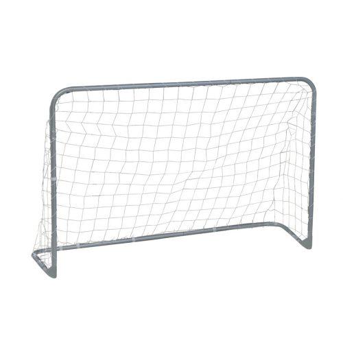 Garlando Foldy Goal Fußballtor – zusammenklappbares Modell aus Metall, 180 x 120 x 60 cm