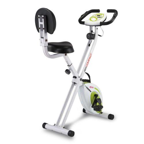 Toorx Fitness BRX Compact Ergometer mit zusammenklappbarem Gestell – 100 kg Belastbarkeit
