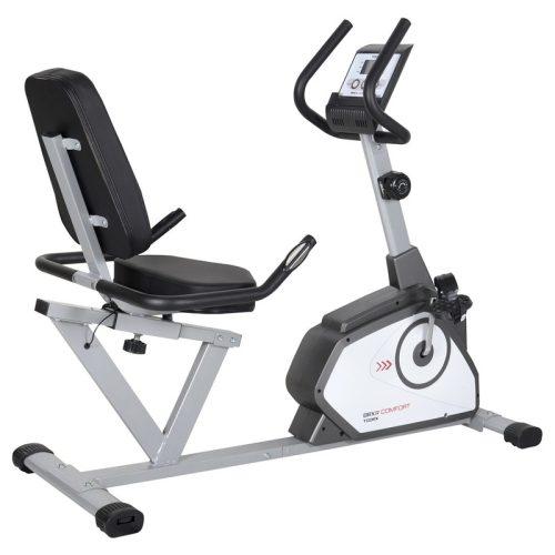 Toorx Recumbent Comfort Heimtrainer mit Rückenlehne – 110 kg Belastbarkeit