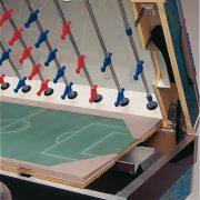 Garlando Deluxe Outdoor Fußballtisch für draußen mit Teleskopstangen