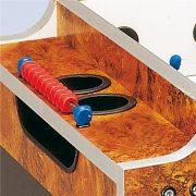 Garlando Olympic Münzprüfer-Fußballtisch mit Teleskopstangen